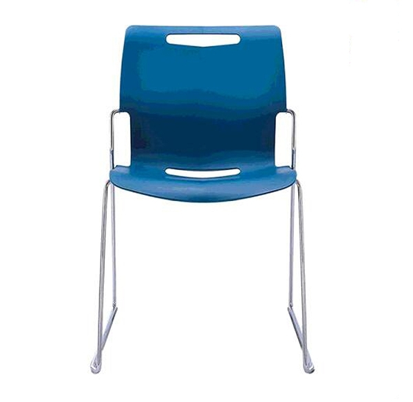 [COSCO代購] W129644 Musical Chairs Cache 可堆疊辦公椅 - 藍 2入