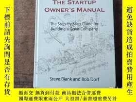 二手書博民逛書店The罕見Startup Owner s Manual:Step-By-Step Guide for Buildi