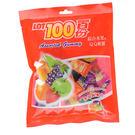 一百份綜合水果味QQ軟糖200g【愛買】