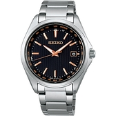 SEIKO精工 紳士經典太陽能電波校時鈦金屬腕錶 7B75-0AA0K(SBTM293J)