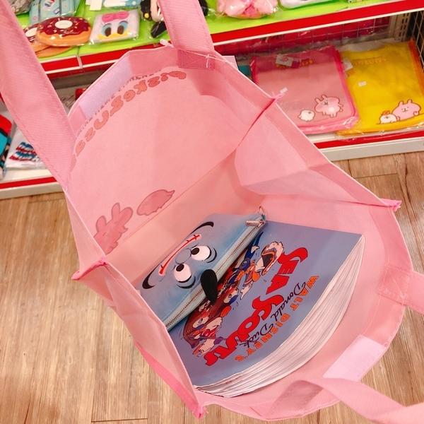 正版 卡娜赫拉的小動物 卡娜赫拉 P助 兔兔 提袋 手提袋收納袋 便當袋餐袋 購物袋 黃色款 COCOS KS180