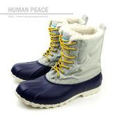 native JIMMY 靴子 低筒 保暖 內鋪毛 藍色 灰色 男鞋 女鞋 GLM15-496 no267