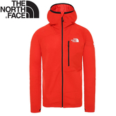 【The North Face 男 SUMMIT L2 POWER GRID LT連帽衫《紅》】3SQP/薄外套/連帽外/登山