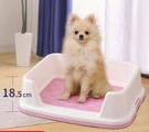 寵物廁所 愛麗絲狗狗廁所便便器愛麗思寵物便盆尿尿盆小型犬小號泰迪用品【快速出貨八折下殺】