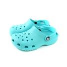 Crocs 涼鞋 休閒鞋 防水 雨天 淺藍色 童鞋 204536-40M no004