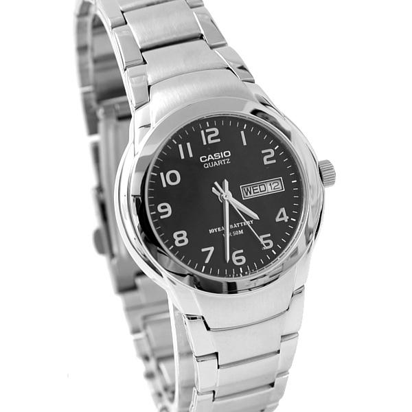 CASIO卡西歐黑面數字防水鐵錶 防水50米 柒彩年代【NEC71】