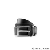 【GIORDANO 】男裝經典款超值皮帶 - 09 經典黑