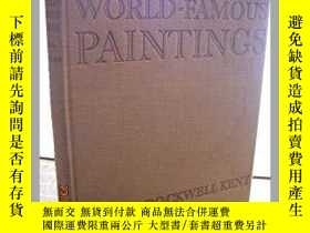 二手書博民逛書店World-Famous罕見Paintings 美國著名畫家 洛