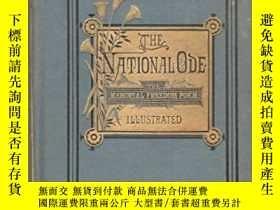 二手書博民逛書店古籍,The罕見National Ode: The Memorial Freedom Poem,約1877年出版,
