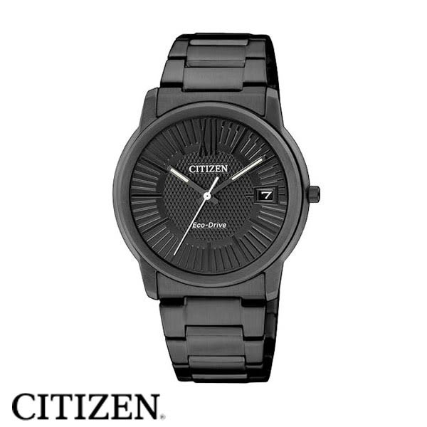 CITIZEN星辰 光動能深邃黑鋼羅馬字女錶x32mm黑・公司貨・FE6015-56E
