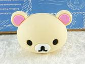【震撼精品百貨】Rilakkuma San-X 拉拉熊懶懶熊~捲線器_頭