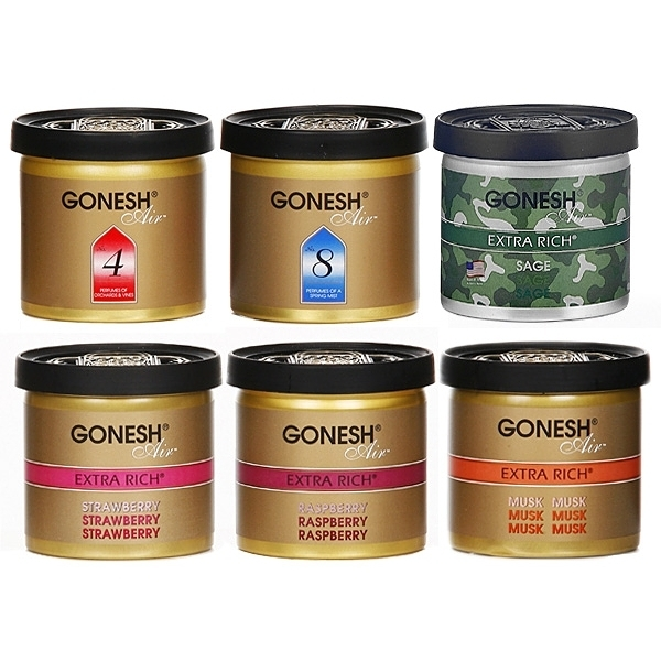 GONESH 美國精油線香品牌 日本獨家研發 空氣清新芳香膠(78g)【小三美日】