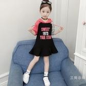 女童秋裝衛衣2019新品兒童夏季裝中長款韓版寬鬆潮女孩洋氣長袖上衣