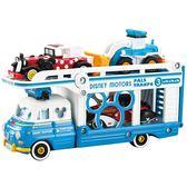 《 TOMICA  》迪士尼小汽車運輸車 - 唐老鴨╭★ JOYBUS玩具百貨