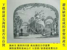 二手書博民逛書店1851年罕見木版畫 《SCENE FROM THE BALLE