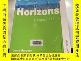 二手書博民逛書店Horizons Geography罕見11-14Y246305
