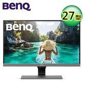 【BenQ】EW277HDR 27型 智慧藍光+舒適屏螢幕【全品牌送外出野餐杯】