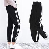 運動褲女學生韓版寬鬆顯瘦休閒原宿BF風