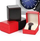 手錶收藏盒 高檔PU皮單個表盒子禮品盒包裝盒手飾品收藏展示表盒收納盒【快速出貨八折下殺】