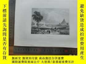 二手書博民逛書店【罕見】19世紀 銅 鋼版畫 單幅 WATERLOO( 2007