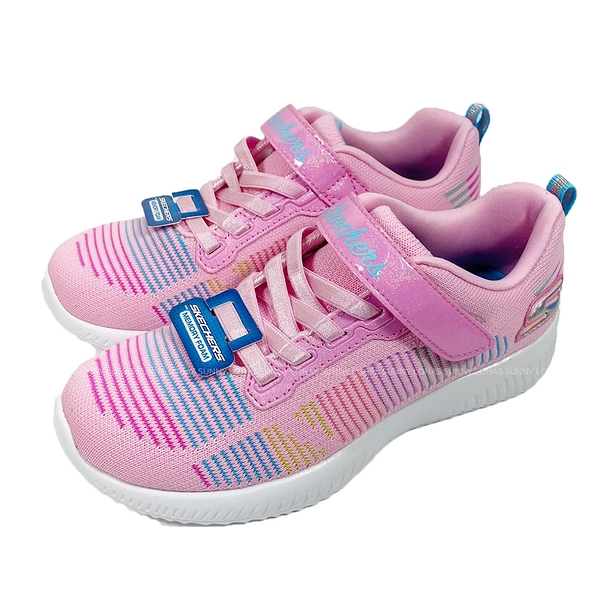 (C3) SKECHERS 女童鞋 BOB SQUAD 休閒運動鞋 記憶型鞋墊 可機洗302379LPKMT粉彩 [陽光樂活]