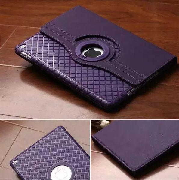 MINI4 免運 IPAD air2 air iPad4/5/6 mini3/4TPU布纹360度旋轉軟套  皮套
