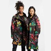 【折後$4899】▶NIKE NSW Jacket 男裝 黑 花卉 風衣 連帽外套 AR1599-389