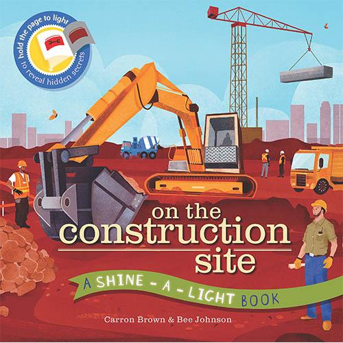 A Shine A Light Book:On The Construction Site 透光書:工地篇 平裝繪本