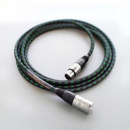 美國 Evidence Audio Lyric HG 15ft 平衡式 XLR 麥克風線 4.57公尺 總代理公司貨