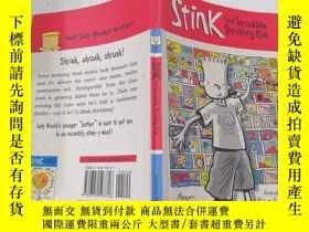 二手書博民逛書店Stink罕見:the incredible shrinking kid臭氣:令人難以置信的退縮的孩子Y212