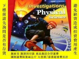 二手書博民逛書店Investigations罕見Physical science