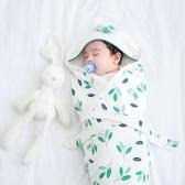 完封高麗菜嬰兒抱被 玉米ma夏季薄款新生兒純棉帶帽抱被寶寶用品嬰兒柔軟被子繈褓