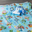 床包被套組 / 雙人【波力救援小英雄-藍】含兩枕套,韓國可愛卡通,磨毛工法,戀家小舖台灣製