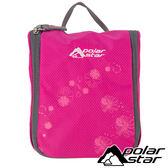 【PolarStar】旅行盥洗收納包『桃紅』露營.旅遊.戶外.休閒.登山.收納袋.盥洗包 P15815-102