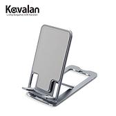 【KAVALAN】D018 鋁合金隨身折疊手機平板支架-灰