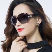 新款偏光太陽鏡女潮墨鏡女圓臉近視眼鏡優雅大框復古長臉眼睛【無趣工社】