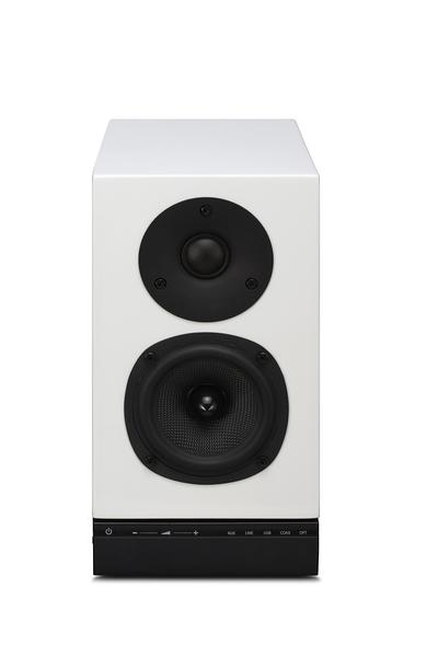 英國QUAD 名展音響專賣 9AS主動式鑑聽喇叭/對 內建USB/DAC  鋼琴烤漆黑/紅/白 新竹桃園推薦!