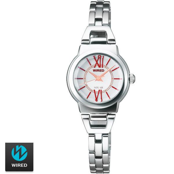 WIRED SEIKO副牌 太陽能優雅羅馬字手鍊錶 22mm V117-X001S AU9001X 公司貨 | 高雄名人鐘錶