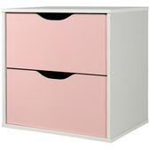 出貨收納格櫃收納櫃置物櫃【1432 】CUBE 魔術方塊雙抽收納櫃多 MIT  製粉