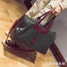 手提旅行包女大容量短途行李袋男韓版簡約旅行袋輕便防水健身包潮 LR25242『3C環球數位館』