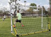 羽毛球网架 快速足球門便攜式可以卸載多人球網訓練練習足球網室內戶外安裝