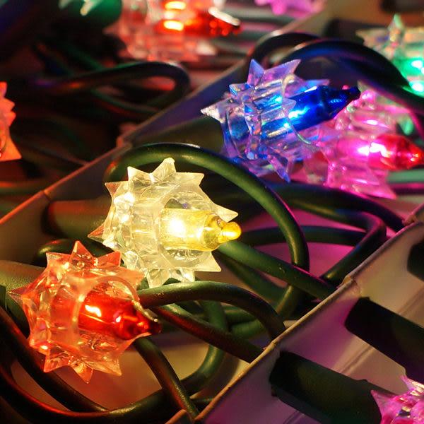 聖誕燈-鑽石燈串 (35燈)(鎢絲燈)(可搭聖誕樹)