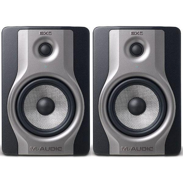 【金聲樂器廣場】全新 M-audio BX5 Carbon 5吋 碳纖維 主動式 監聽喇叭
