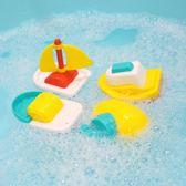兒童洗澡玩具玩水嬰幼漂浮小船男孩女孩水上船套【奇趣小屋】