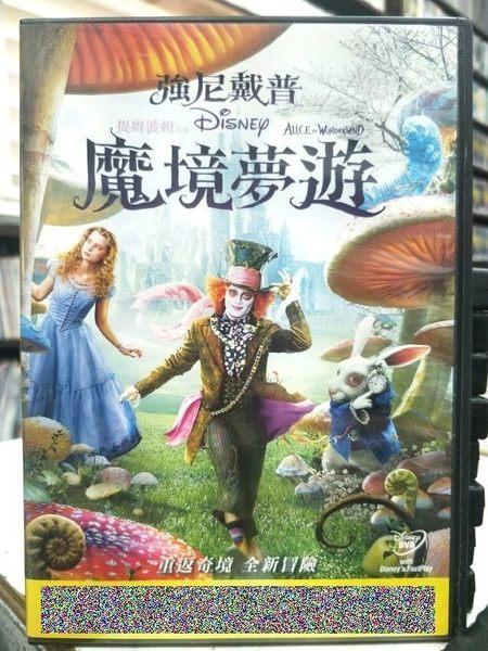 影音專賣店-Y15-031-正版DVD-電影【魔境夢遊】-迪士尼 影印海報