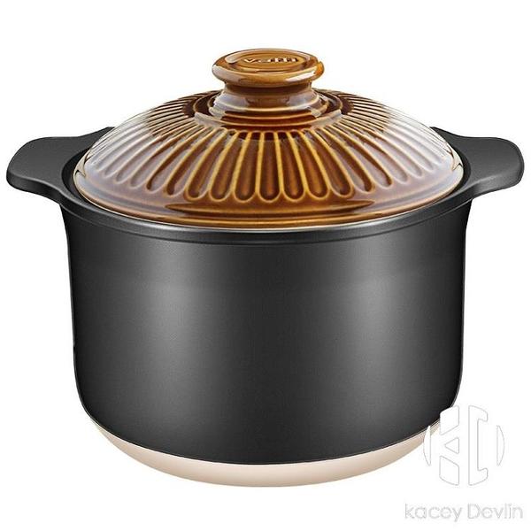 湯煲 5500ml煲湯鍋大號陶瓷鍋燉鍋湯鍋 耐熱耐冷砂鍋【Kacey Devlin】