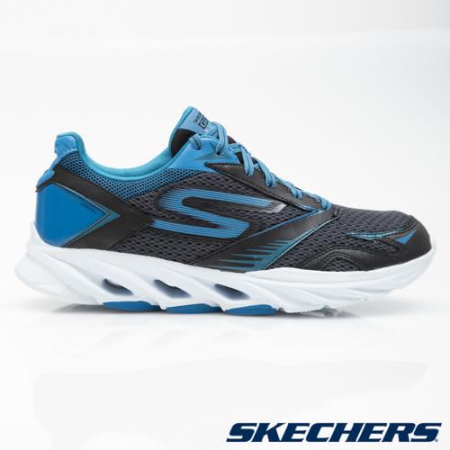 SKECHERS 男鞋 跑步系列GO Run Vortex - 黑X藍 54079BKBL