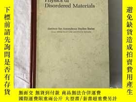 二手書博民逛書店PHYSICS罕見OF DIS OR DERED MATERIA
