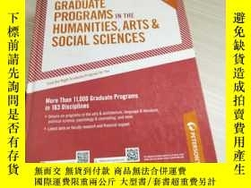 二手書博民逛書店Graduate罕見Programs in the Humanities, Arts & Social Scien