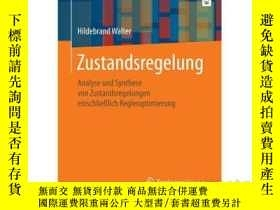 二手書博民逛書店Zustandsregelung:罕見Analyse Und S